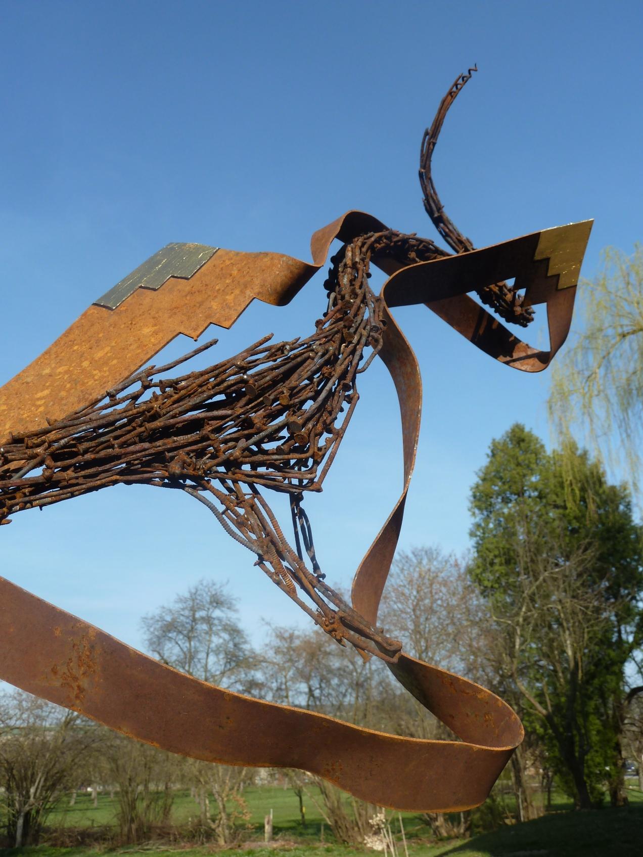 Steel nails used in art, Nagel Skulpturen in der Kunst | metal nails ...