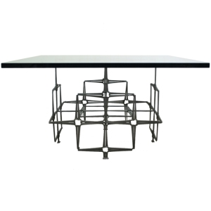 Stelle nail table on sale by Brutalist Studio